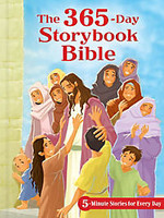 365-Day Storybook Bible, the (Padded HB): 5-Minute Stories for Every Day