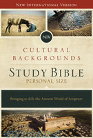 NIV: Cultural Backgrounds Study Bible, Personal Size, HB: Bringing to Life the Ancient World of Scripture (HB)