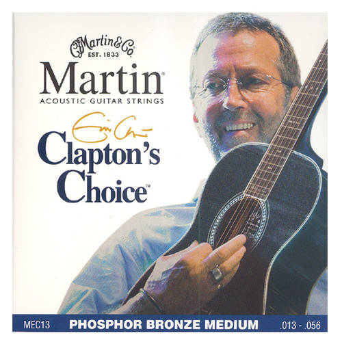 마틴 어쿠스틱 기타줄 Eric Clapton Choice MEDIUM (MEC13) - Phosphor Bronze