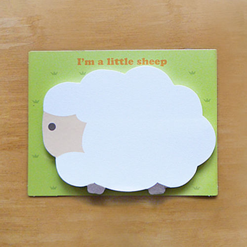 little sheep 포스트잇