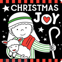 Christmas Joy Black and White Board Book