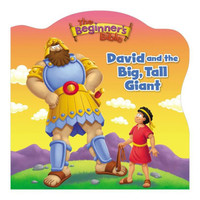 Beginners Bible David and the Big, Tall Giant (Board Book)