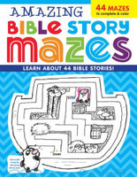 Amazing Bible Story Mazes (Series: Im Learning the Bible Activity Book)