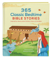 365 Classic Bedtime Bible Stories (HB): Inspired by Jesse Lyman Hurlbuts Story of the Bible