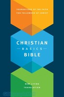 NLT: Christian Basics Bible (Hardcover, Indexed)