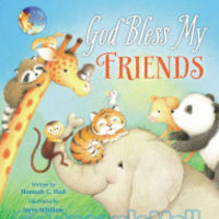 God Bless My Friends (Board Book)