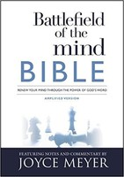 AMP: Battlefield of the Mind Bible: Renew Your Mind Through the Power of Gods Word (PB)
