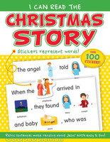 I Can Read the Christmas Story: Sticker Book (PB)