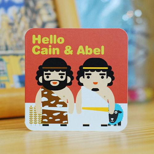 바이블 미니카드 -가인과 아벨