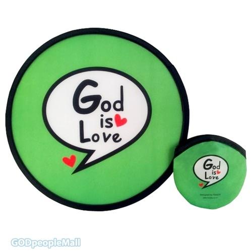 포켓부채(접이식부채) - God is Love (여름성경학교/선교)