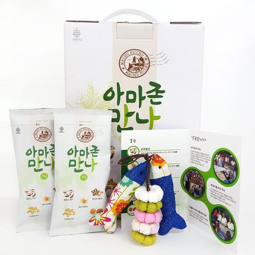 프리미엄 하루견과 아마존만나 선물세트 (29gX30봉)