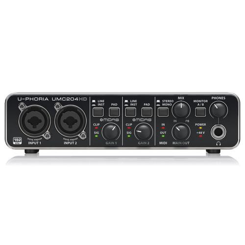 베링거 U-PHORIA UMC204HD 오디오 인터페이스
