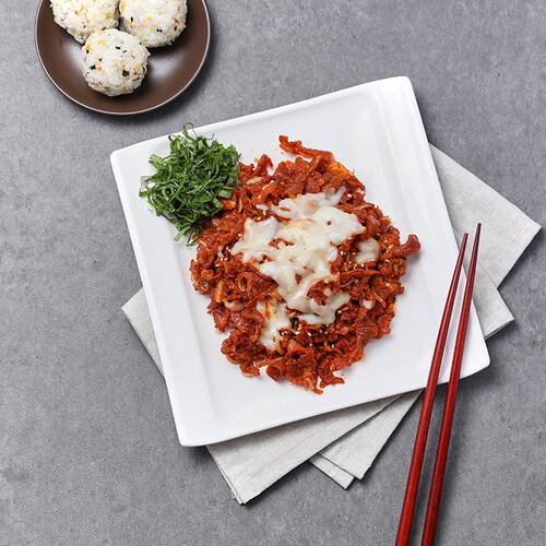 태현쿡 매콤 오돌뼈 (300gx4팩) + 치즈(27gX2봉)