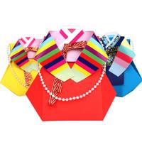 [만들기패키지] 종이접기 색동용돈주머니 (5개이상구매가능)