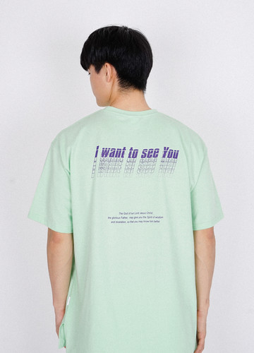 I WANT TO SEE U T-shirts (lime)