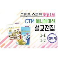 고신 그랜드스토리 초등1부 1(1-1,1-2) 맞춘 CTM 설교 전집 USB,DVD