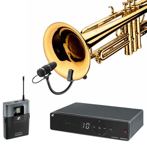 [트럼펫용 무선마이크] SENNHEISER XSW1 / DPA VO4099T / DAD6034[젠하이져타입]