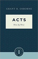 Acts Verse by Verse (Series: Osborne New Testament Commentaries)