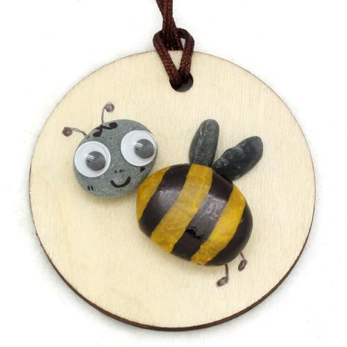 에코스톤목걸이만들기-꿀벌