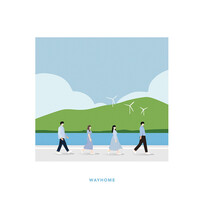 WAYHOME (웨이홈) 1st - 우리가 사랑한 이야기 (CD)
