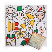 반짝반짝 크리스마스 스티커 DIY - 1 아기 예수 빅스티커