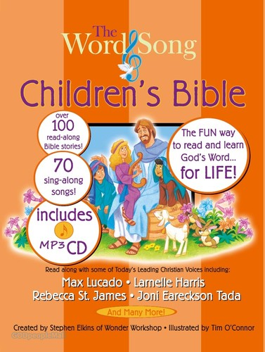 Word and Song Childrens Bible with 1 MP3 CD