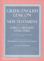 Greek-English Lexicon of the New Testament and Other Early Christian(3rd/정품복사본)