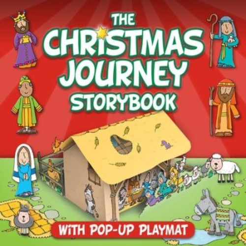 Christmas Journey Storybook With Pop-Up Play Scenes (Board Book)