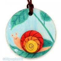 new곤충목걸이만들기-달팽이