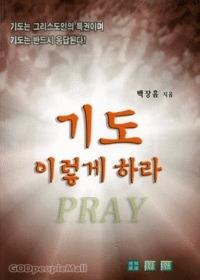 기도 이렇게 하라
