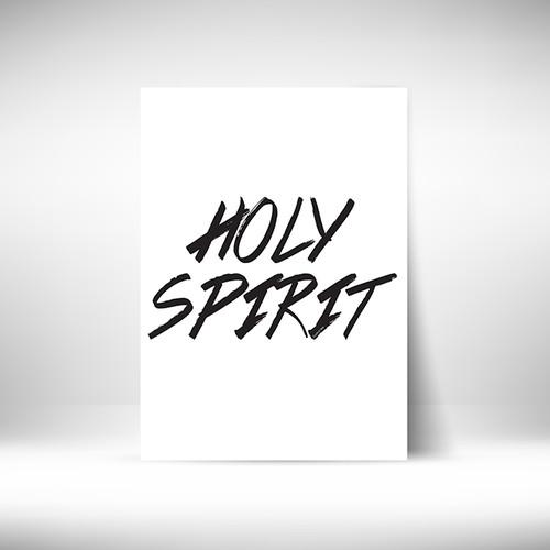 피크닉앳홈 Goodnews Papaer 성경말씀포스터 Holy Spirit