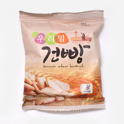 전도용, 간식용 우리밀 건빵 1박스 (30g*100개)