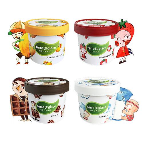 떼르드글라스 유기농 아이스크림 내맘대로세트