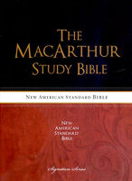 THE MACARTHUR STUDY BIBLE(NASB/Hardcover)