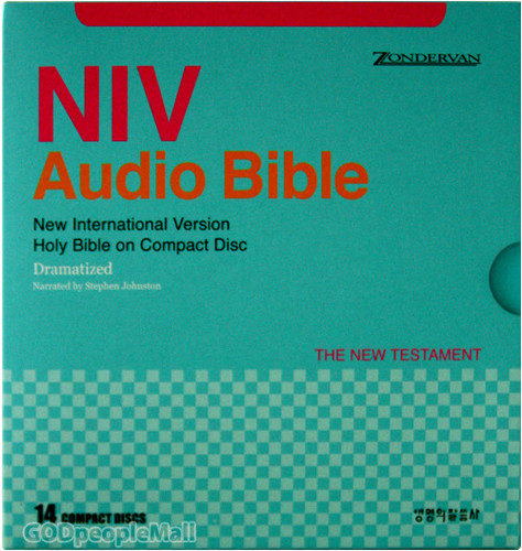 NIV Audio Bible 신약 (14CD set)