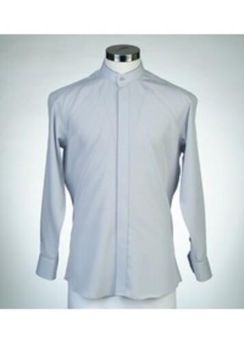 목회자셔츠-멘토셔츠 회색