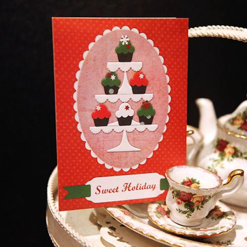 하베스터 크리스마스 카드 - 달콤한 하루
