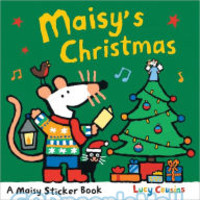 Maisys Christmas (PB): Sticker Book