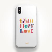성경말씀폰케이스 디자인-19 믿음 소망 사랑