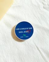 [스마트톡] I am child of GOD sign Jesus 나는 하나님의 자녀 스마트폰 거치대