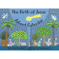 Birth of Jesus Advent Calendar and Nativity Scene