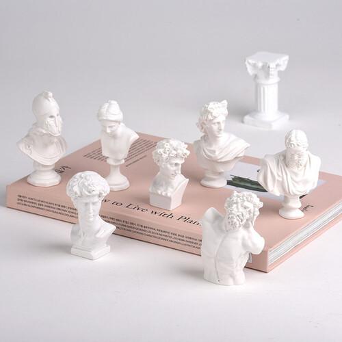 미니 석고상 조각상 장식 소품