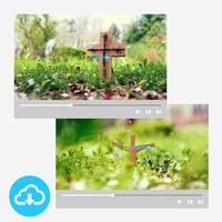십자가 배경영상 세트 1 (1~10) by 굿픽 / 이메일발송(파일)