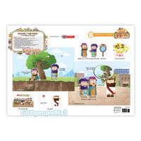 히즈쇼 주일학교 뿌우뿌우 성경기차 - 그림 설교 자료 10-2 빌립 (유아유치부)
