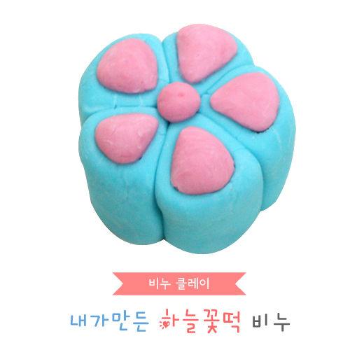 비누클레이 - 하늘꽃떡비누(10인용세트)