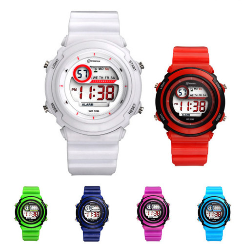 전자 손목시계  8색상 30M 방수 MR-8567 (S 사이즈)