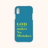 울보제자 God makes no mistakes 찬양케이스 (블루)
