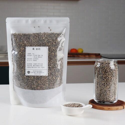 국내산 흑보리쌀 1kg