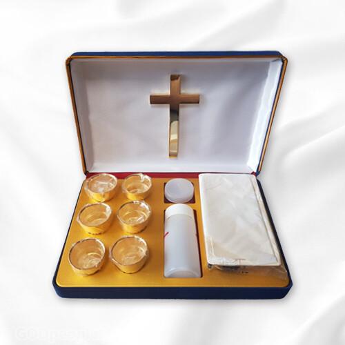 금 휴대용 성찬기 THG-6호 (6개)