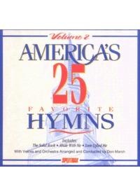 Americas 25 Favorite Hymns 2 (CD)